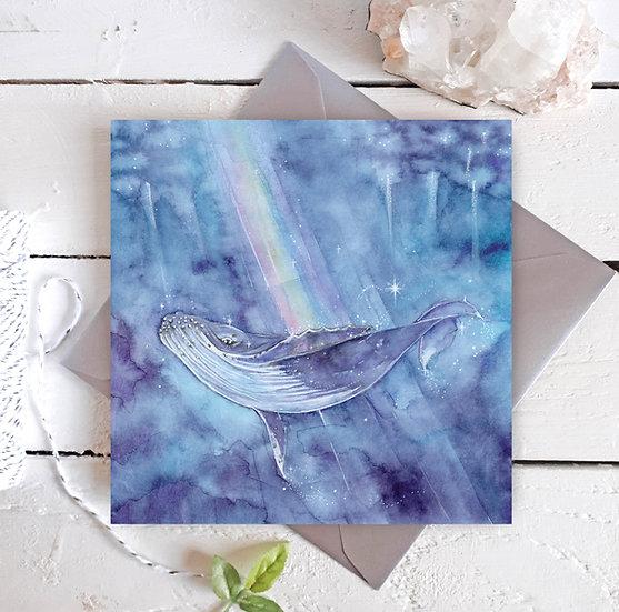 True Magic Whale Card