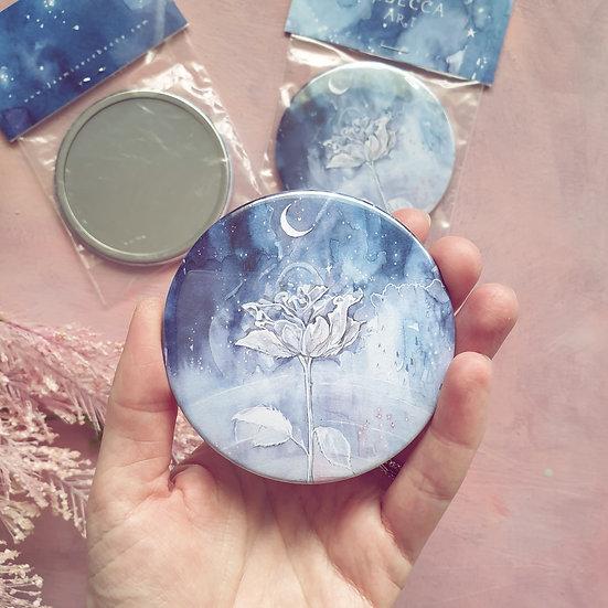 Celestial Rose Pocket Mirror