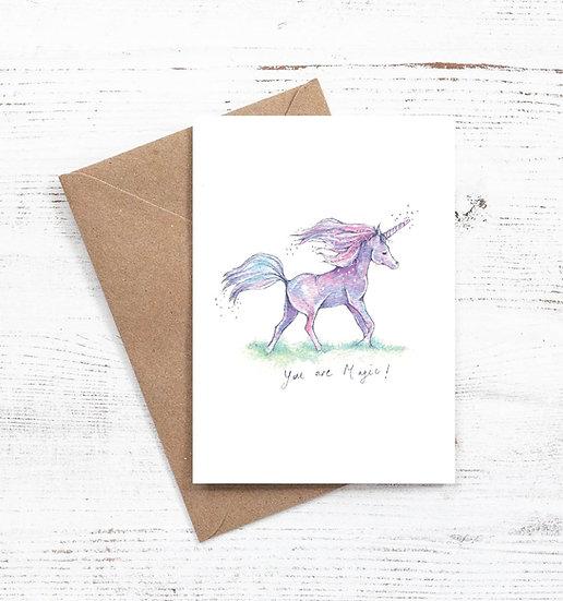 You are Magic unicorn card