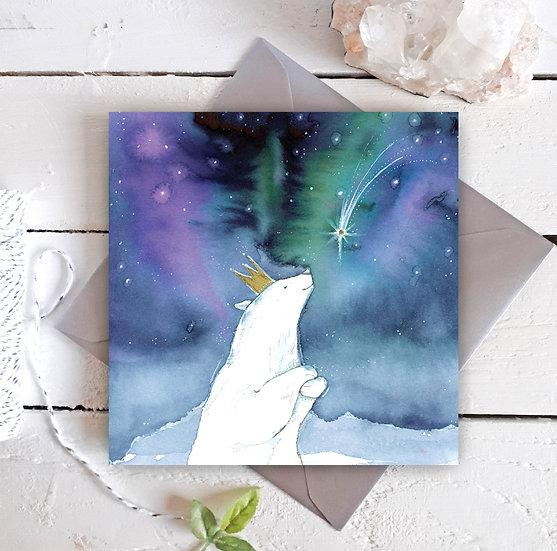 The Wishing Polar Bear Card