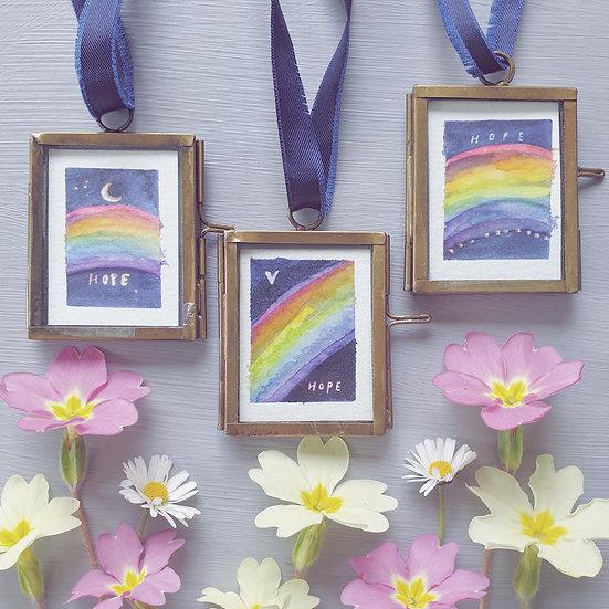 Rainbows ~ Mini paintings