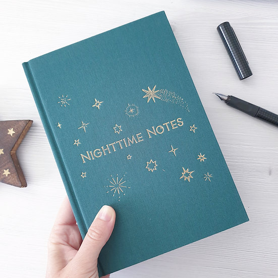 'Morning & Night' two way Notebook