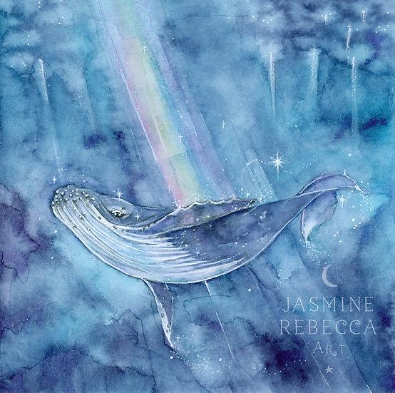 True Magic, Whale Print