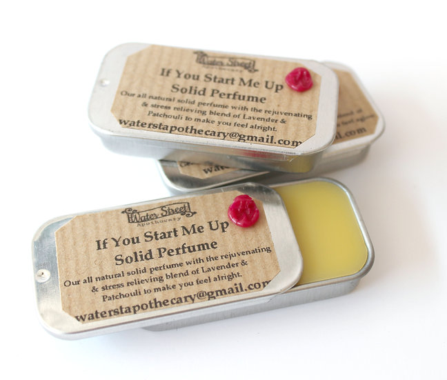 If You Start Me Up Solid Perfume