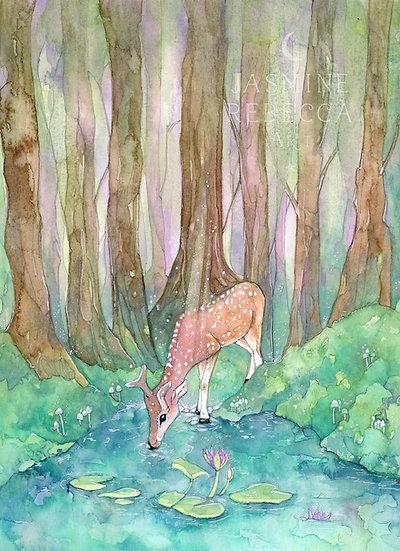 Deer one Print