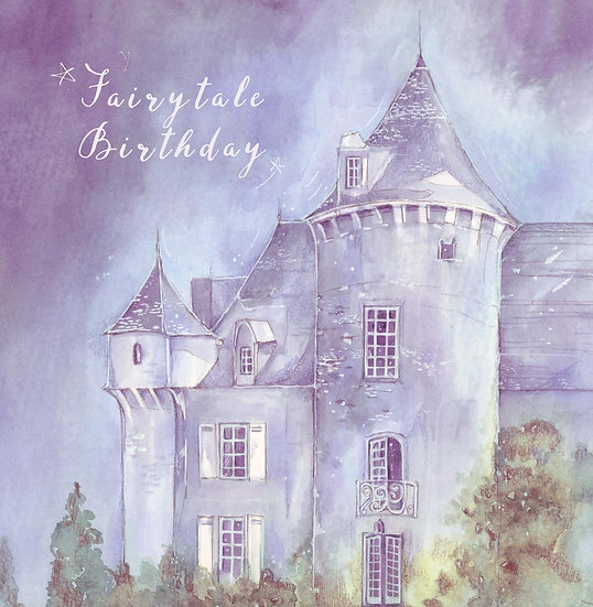 Fairytale Birthday Card