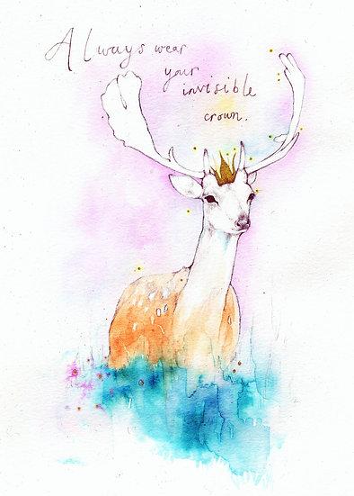 Invisible Crown Deer