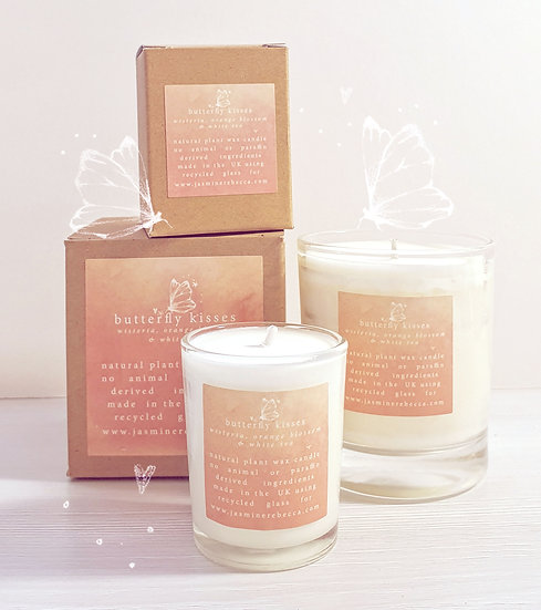 Butterfly Kisses candle
