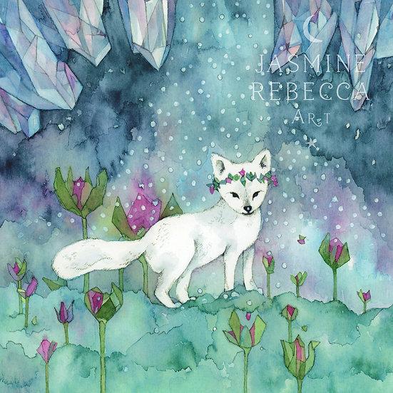 Arctic fox Print