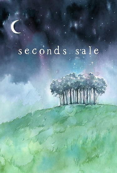 SALE PRINT Nearly Home Trees A4