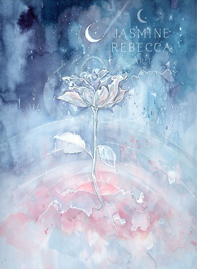 Celestial Rose Print