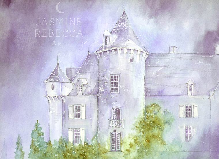 Fairytale Chateau print