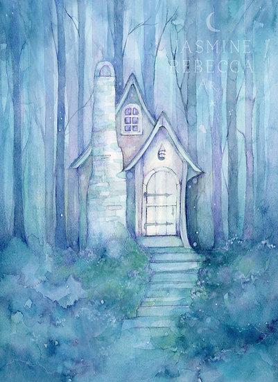 Enchanted Cottage Print