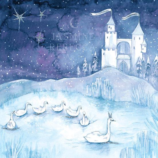Swan Lake Print