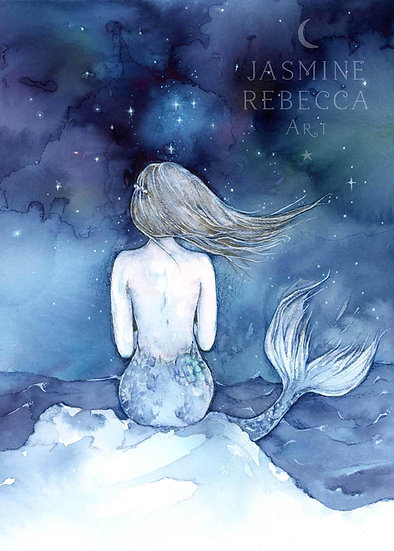 Night Swimming Print