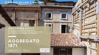 Ingegneria Civile - Ricostruzione post-sisma - Completato il cantiere nel Comune di L' Aquila