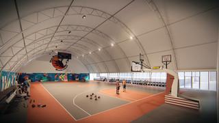 Tensostruttura Basket
