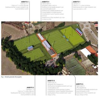 """Tsport n.336 """"Speciale Efficienza Energetica"""" - Impianto Sportivo Comunale di Caselle Torinese (TO)"""