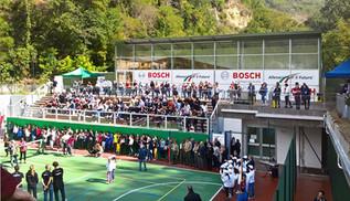 Inaugurato il Playground BOSCH di Acquasanta Terme [fotogallery]