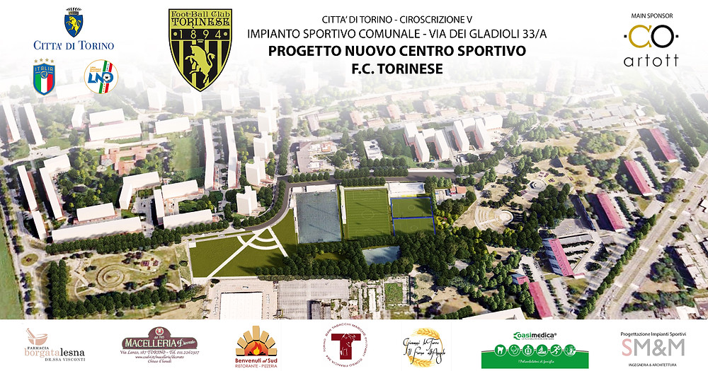 fc torinese - nuovo centro sportivo