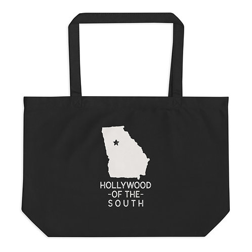 Hollywood of the South Large organic tote bag