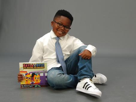 Atlanta Film and TV Interviews Child Author Nicholas Buamah!