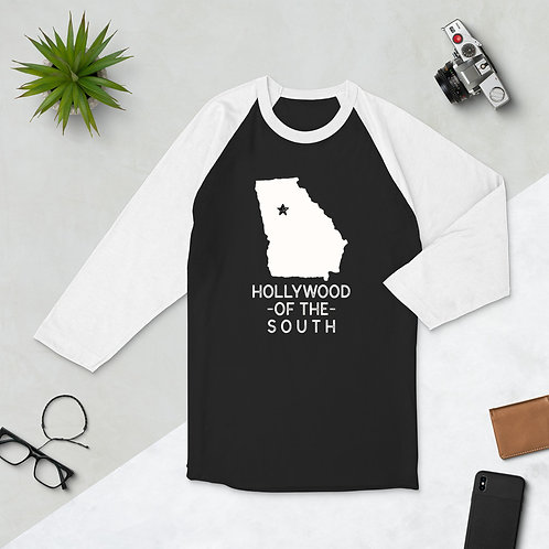 Hollywood of The South Women's 3/4 sleeve raglan shirt