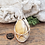 Thumbnail: Brecciated Mookaite Stone Pendant, Wire Wrapped Necklace