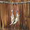 Thumbnail: Muskrat Jaw Bone & Sodalite Earrings