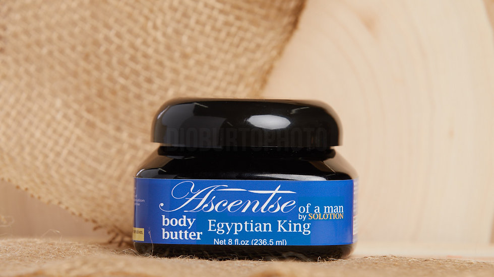 Ascentse of a Man: Egyptian King Body Butter
