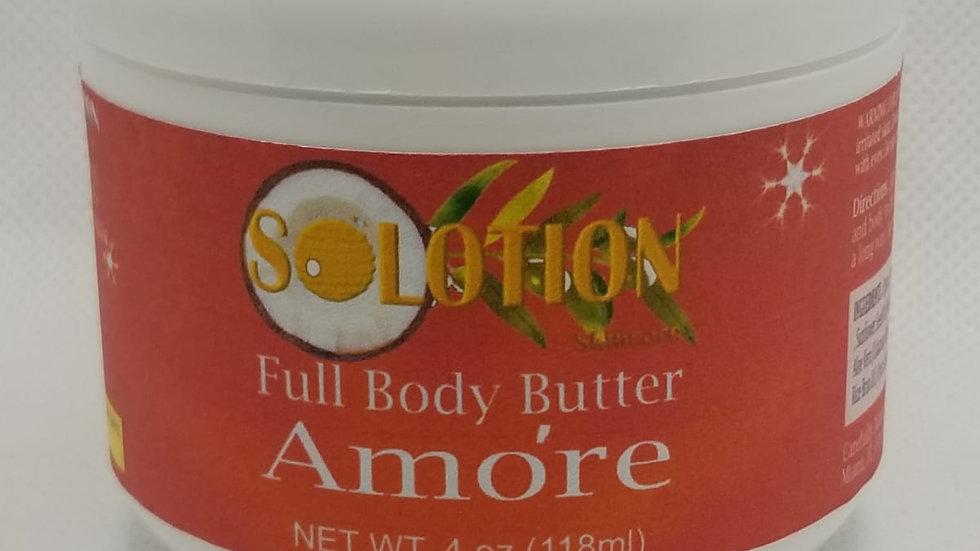 Amóre Body Butter 4oz