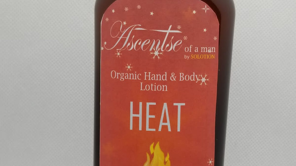Heat! Ascentse of a man Body Lotion