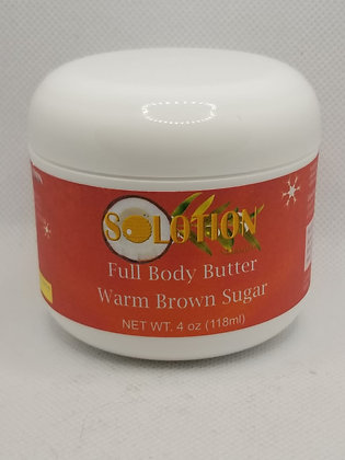 Warm Brown Sugar Body Butter 4oz