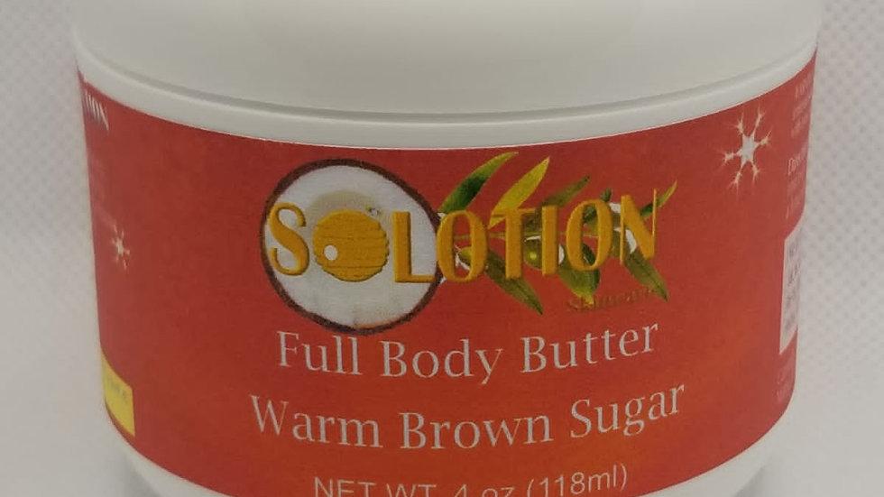 Warm Brown Sugar Body Butter 4oz