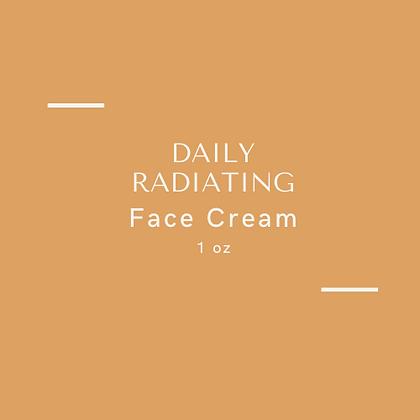 Daily Radiating Face Cream 1 oz