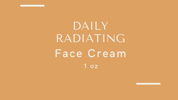 Daily Radiating Face Cream 1 oz