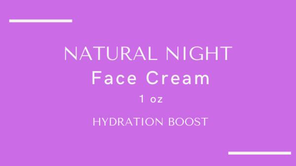 Natural Night Cream 1 oz