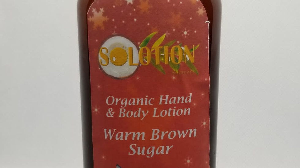 Warm Brown Sugar Hand and Body Lotion