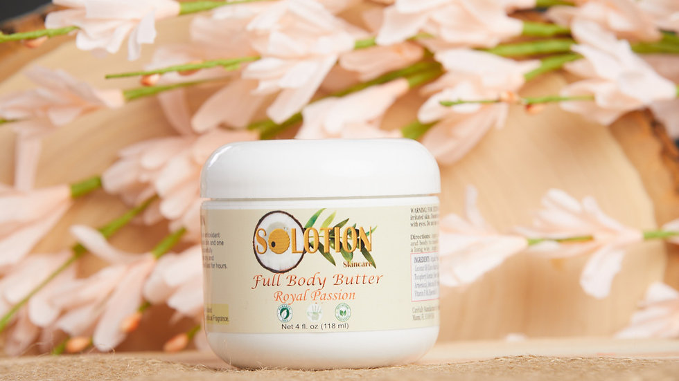 Royal Passion 4 oz full body butter