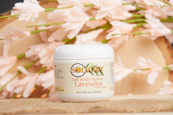 Lavender 4 oz Full Body Butter