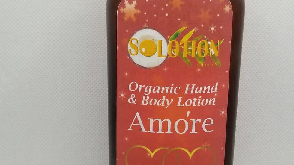 Amóre Hand and Body Lotion