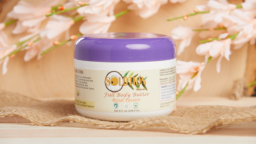 Royal Passion Full body butter