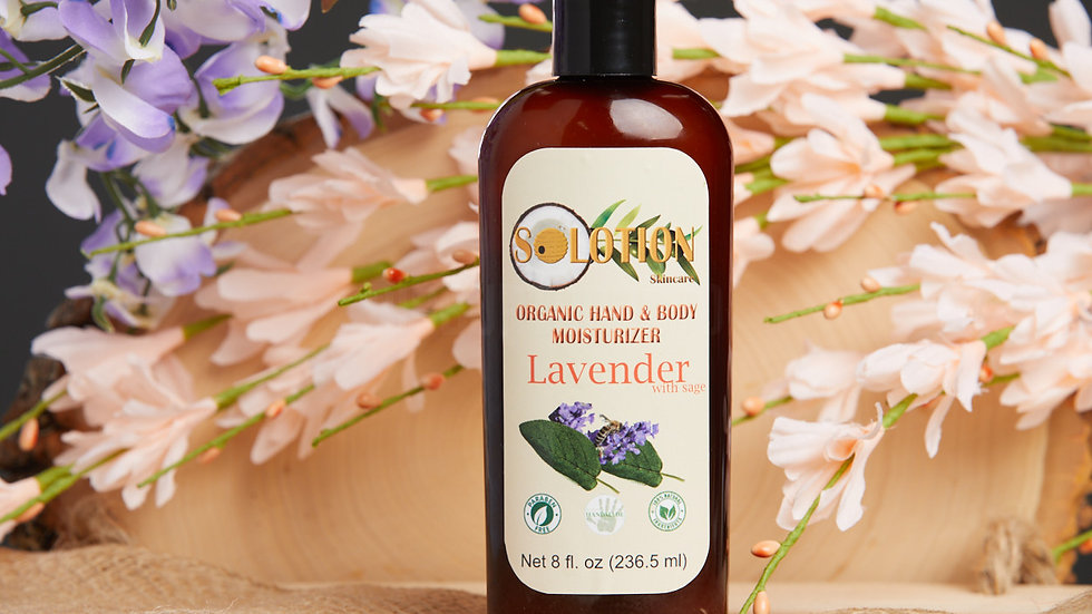 Lavender with Sage Hand and Body Lotion