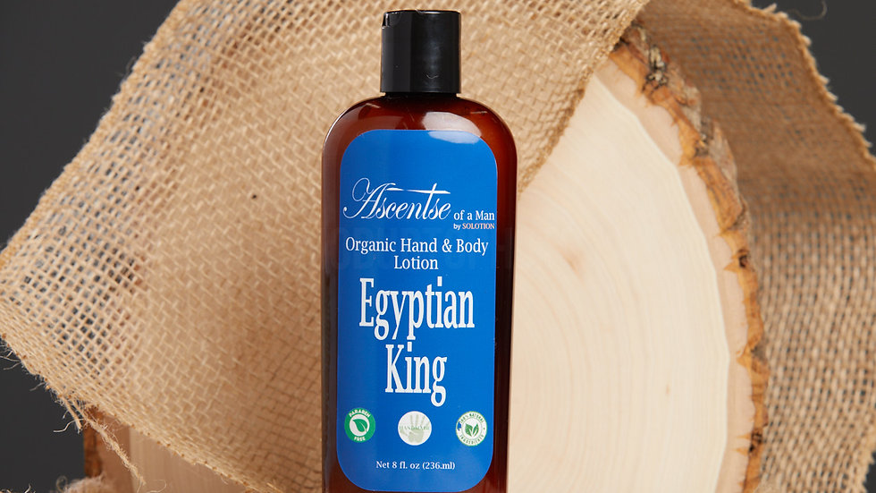Ascentse of a Man: Egyptian King Lotion