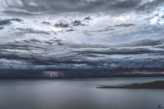 Lightning Over Lake Titicaca