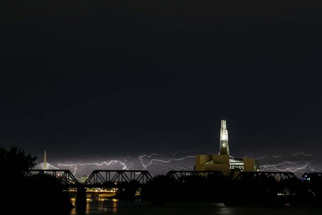 Winnipeg Skyline Storm