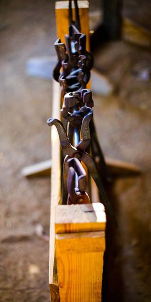 Tong rack