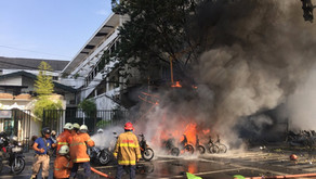 Suicide Bombers Attack Church in Indonesia