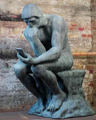 Hashtagger Statue