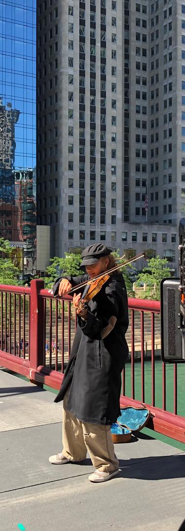 Filming - Clark St. Bridge